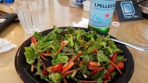 salad-with-pellegrino